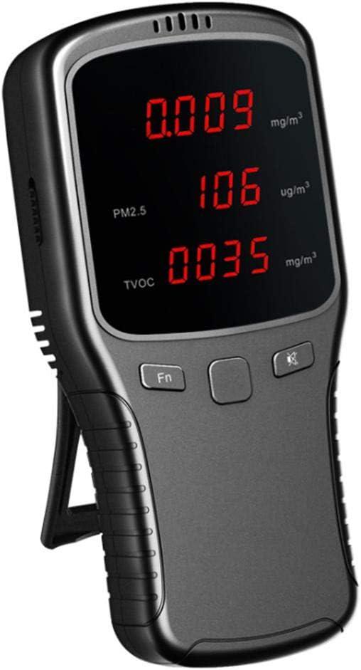 Professionel Mini PM2.5 Detektor Wiederaufladbar Luftqualitätsprüfer DE