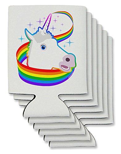 TooLoud Magical Horn Rainbow Unicorn Can/Bottle Insulator Co