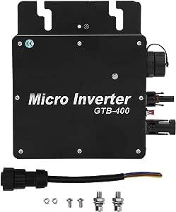 400W Grid Tie Inverter,Pure Sine Waving Inverter,Solar Power Grid Tie Inverter,Aluminum Alloy Micro Inverter(AC110-130V)