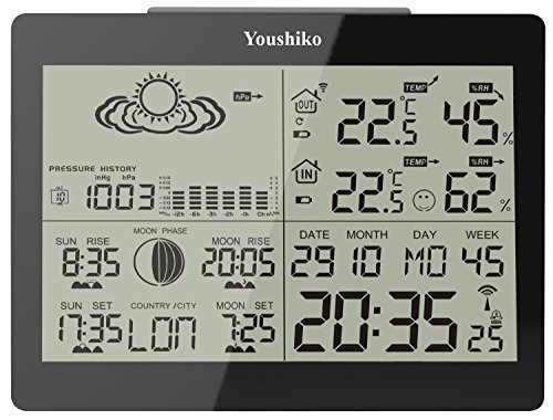 Digital Wireless Weather Station with Radio Control Clock ( Official UK...