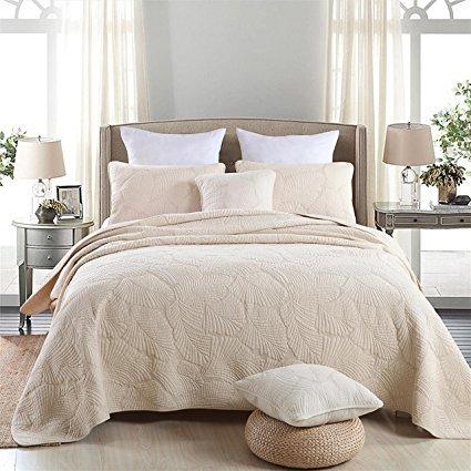 LBBS Tech Palm Tree Bedding 100% Cotton Palm Tree Bed Set (1 Comforter