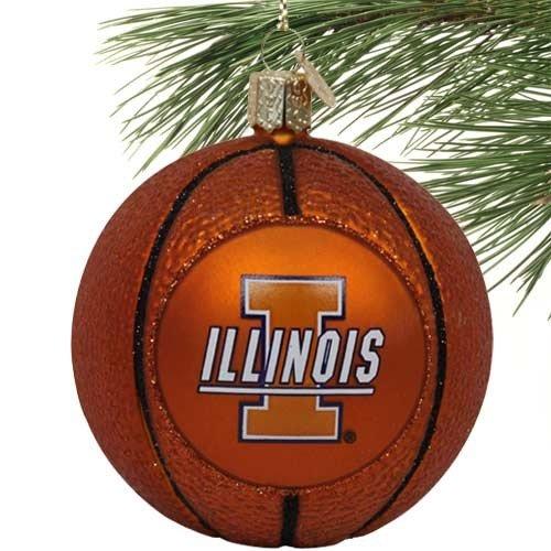 Illinois Fighting Illini Glass Basketball ()