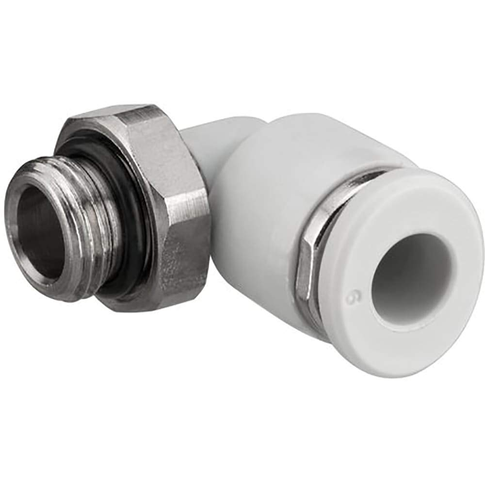 Fitting; QR1-S-RVT-G038-DA08elbow 3/8BSPP to 8mm (5/16'') Tube, Pack of 20
