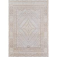 Momeni Rugs ISABEISA-7GRY2780 Isabella Traditional Geometric Flat Weave Area Rug, 27 x 80 Runner, Grey