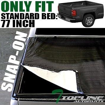 Amazon Com Topline Autopart Hidden Snap On Vinyl Truck Bed