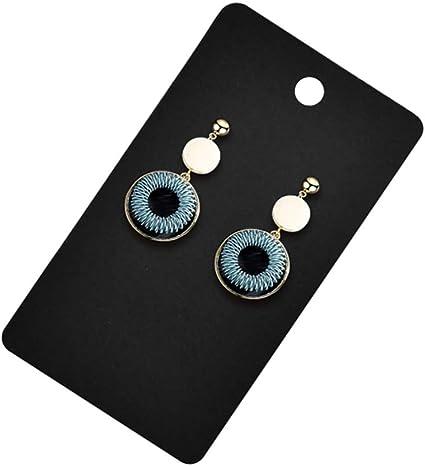 Kraft Floranea 50 Pcs Earring Display Cards 3 Holes Paper Blank Earring Hanging Card Holder Tags Cardboard for DIY Ear Studs Jewelry Storage Packaging Accessories
