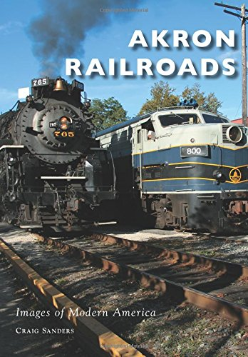 Akron Railroads (Images of Modern America)