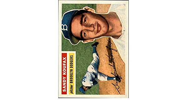 2019 Topps Baseball Series 2 Sandy Koufax Dodgers 1956 ICR-67 ICONIC REPRINTS