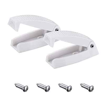 Miady RV Baggage Door Catch -Holds RV Baggage Compartments and Doors Open, Durable Material and Simple Installation- White: Automotive