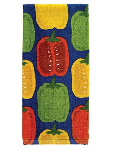 Textiles Kitchen (T-Fal Textiles 100% Cotton Fiber Reactive Printed Kitchen Dish Towel, 19