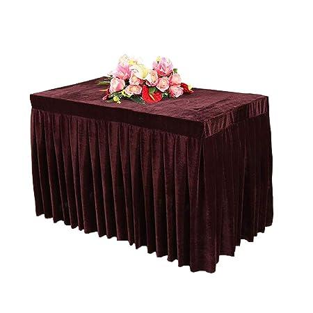 Duanduanli Mantel de Mesa de Conferencia, Color sólido, Mantel de ...