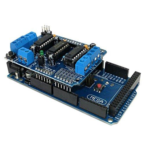 L293D Motor Drive Shield + Mega2560 Module Board Kit For Arduino Mega by BephaMart