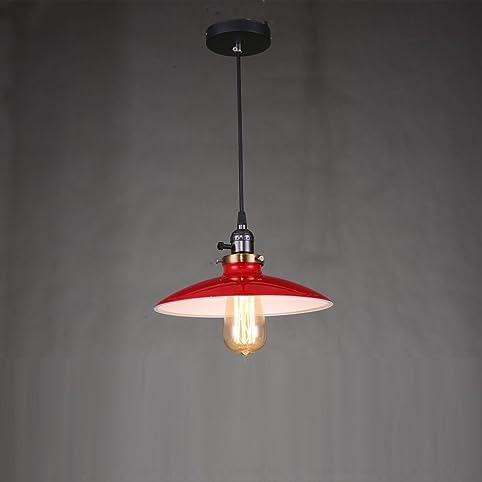 Red chandelier lighting vintage kitchen pendant light metal led red chandelier lighting vintage kitchen pendant light metal led lamp modern bar ceiling industrial bathroom lighting aloadofball Images