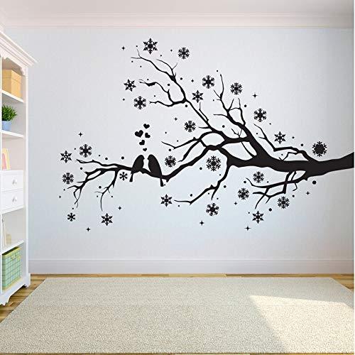 Ajcwhml Etiqueta de la Pared del árbol Etiqueta Dormitorio La raíz ...