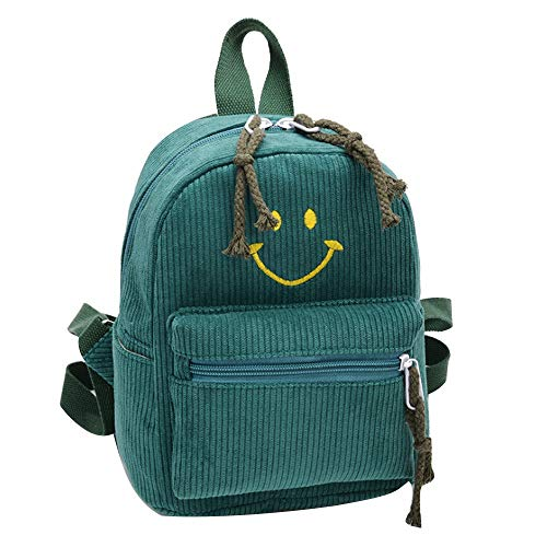 D'école À Joli Ihaza Pour Enfants Ftqotxh Mignon Smiley Sac Vert Dos Mode q6f7xg6