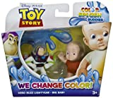 Hero Buzz Lightyear & Big Baby: Toy Story Color Splash Buddies 2-Mini-Figure Pack