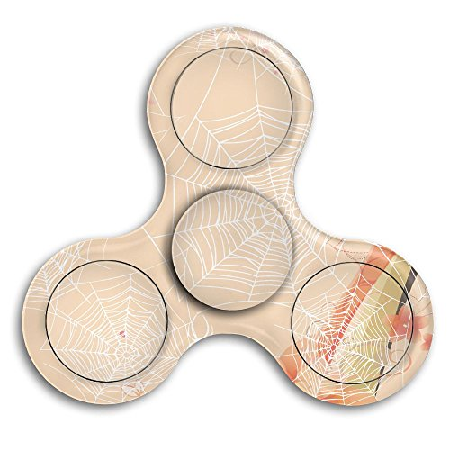 Spider Halloween Web Tri-Spinner Fidget Toy Hand Spinner Camouflage, Stress Reducer Relieve Anxiety And Boredom (Halloween Webs Clipart)