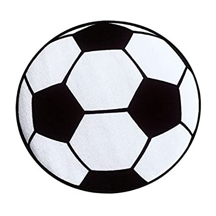 Sodial Runde Fussball Teppich Wohnzimmer Wohnzimmer Matten Kinder Kinder Jungen Schlafzimmer Teppich Stuhl Teppiche Badematten Jungen 60 Cm