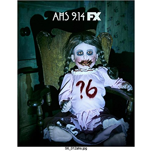American Horror Story Creepy Doll Seated in Chair 8 x 10 Inch - Lange Measurements Jessica