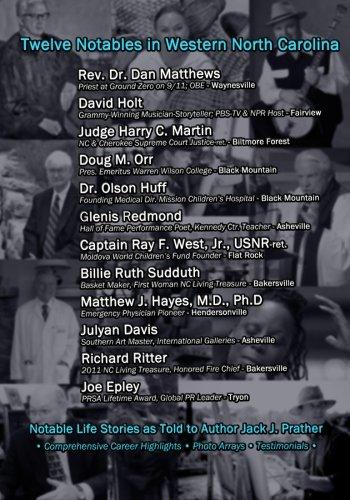 Twelve Notables in Western North Carolina