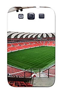 Awesome RHYQLJ-4755-gYUsM Crazylove Defender Tpu Hard Case Cover For Galaxy S3- Stadium Football