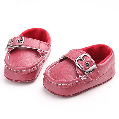 Fire FrogLoafers-shoes - Mocasines para niño Red