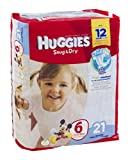 Huggies Diapers Snug & Dry Disney Size 6 (over 35 lb) 21 CT (Pack of 12)