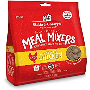 Stella & Chewy's Freeze-Dried Raw Chewy's Chicken Meal Mixers Dog Food Topper, 8 oz. Bag