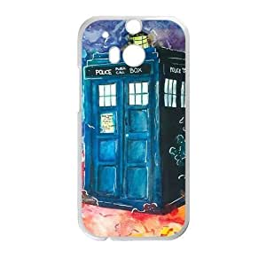 Canting_Good Phone Booth Custom Case Shell Skin for HTC One M8 (Laser Technology)