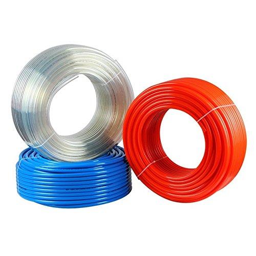 Polyur/éthane PU Pneumatique Tuyau \ 14mm x 10 mm \ 1 m/ètre \ Bleu \ Tubes Flexibles Pour Vide Air P/étrole