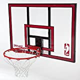Pro Model Basketball Backboard Goal With Rim- Perfect For Backyard Action- Pole Garage Wall Mounted Full 44'' Board Solid Steel Breakaway Rim- Perfect for Young Kids Through Adult- Fun Times All Ages