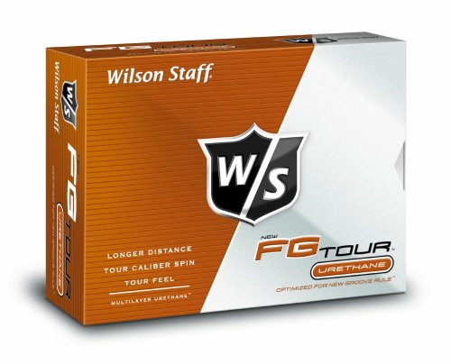 Wilson Staff FG Tour Golf Balls (Pack of 12), Outdoor Stuffs