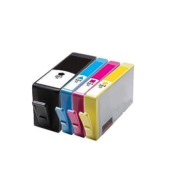 4 ECS Compatible cartucho de tinta reemplazar 364 X L para ...