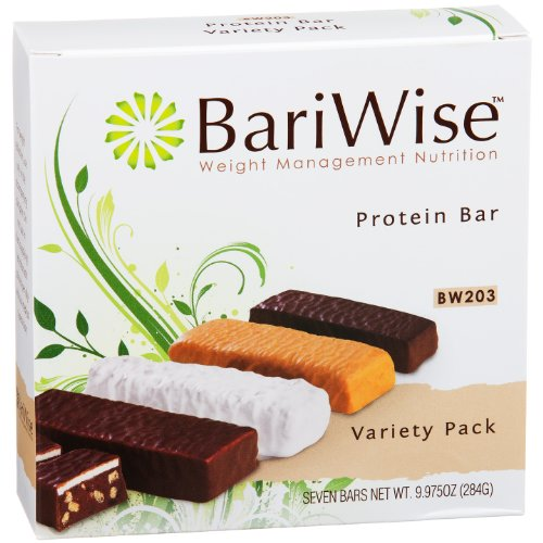 BariWise High Protein Diet Bar - Variety Pack (7 Servings/Box)