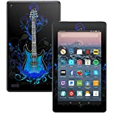 MightySkins Skin for Amazon Kindle Fire 7 (2017) - Guitar | Protective, Durable, and Unique Vinyl Decal wrap Cover | Easy to Apply, Remove, and Change Styles | Made in The USA