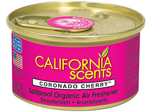 California Scents Spillproof Can Air Freshener Eco-Friendly Odor Neutralizer for Home, Car, Much More, Coronado Cherry, 1.5 oz, 12 Pack by California Scents (Image #2)