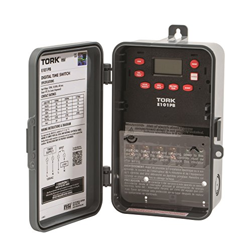 Paragon Controls (Multipurpose Control 24 Hour Time Switch, 120 VAC Input Supply, 1 Channel, SPST Output Dry Contact)