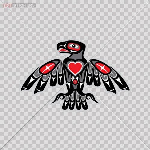 Amazoncom Stickers Eagle Azteca Logo Color Print 5 X 33 Inch