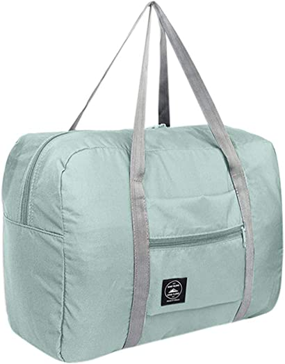 Large Capacity Fashion Travel Tote for Man Women Bag Travel Carry on Luggage Bag Light blue