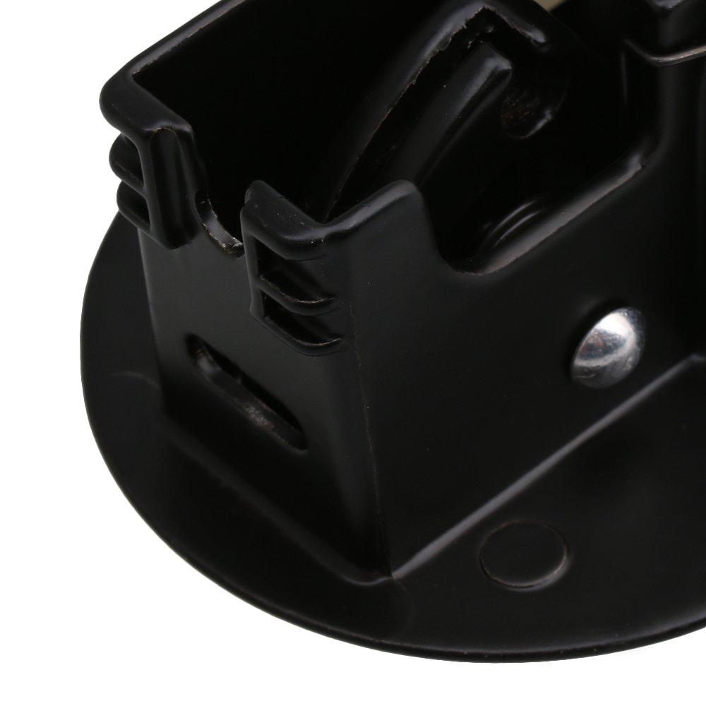 BQLZR Maniglie per sedie reclinabili nere Maniglia per poltrona Maniglia per leva di rilascio senza foro Confezione da 2