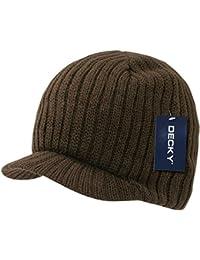dc748ec45ce ... Men   Accessories   Hats   Caps   Multi. Knit Visor Beanie Campus Jeep  Cap (Many Colors Available). DECKY