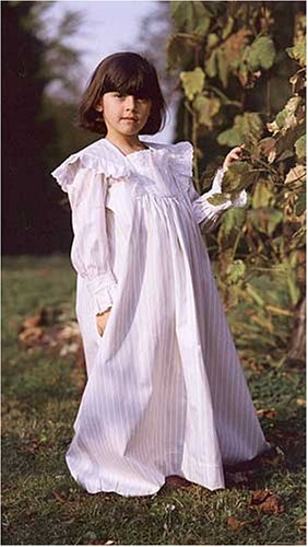 Victorian Sewing Patterns- Dress, Blouse, Hat, Coat, Mens Childhood Dreams Nightgown Pattern $14.95 AT vintagedancer.com
