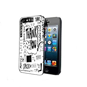 Thank You Thanks Gracias Merci Grazie iPhone 4 4s Back Case