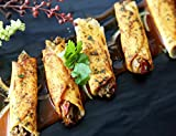 Beef Barbacoa Taquito - Gourmet Frozen Beef Appetizers (50 Piece Tray)