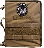FCB Coyote Secret Squirrel Tactical Military Padfolio