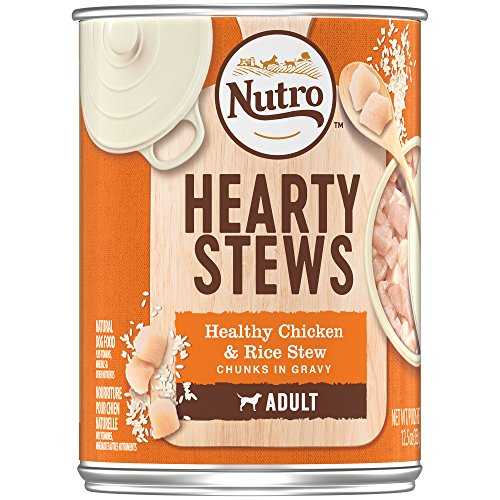 Nutro HEARTY STEWS Adult Canned Wet Dog Food Chunks in Gravy