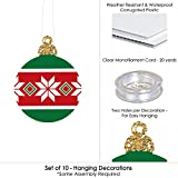 Hanging Ornaments - Outdoor Holiday and Christmas