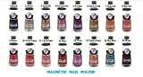 30pcs Nabi Magnetic Nail Polish (Pick your own colors) wholesale lot- 2 FREE Color/Glitter, of your choice
