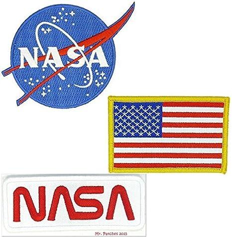 Nasa azul Logo bandera de Estados Unidos WHITE-RED Vector de la ...