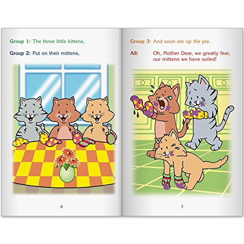 Readers' Theater Student Sets - The Three Little Kittens